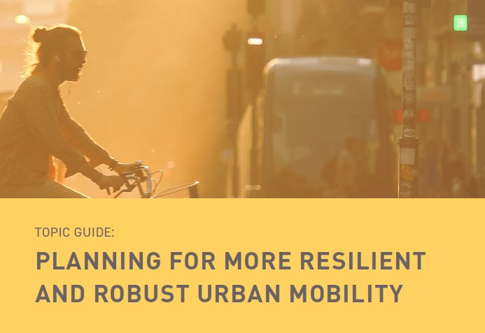 Planning for more resilient and robust urban mobility